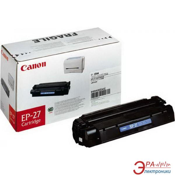 Картридж Canon EP-27 (8489A002) (LBP-3200, MF3110/3228/5630/5650/5730/5750/5770) Black