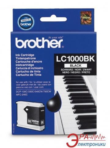 Картридж Brother (LC1000BK) (DCP130C/330/350, MFC240C/465/885/5460CN) Black