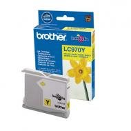 Картридж Brother (LC970Y) (DCP-135CR/150CR, MCF-235/260) Yellow