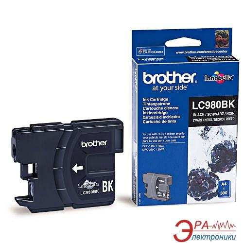 Картридж Brother (LC980BK) (DCP145C/165C/195C, MFC250C) Black