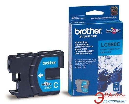 Картридж Brother (LC980C) (DCP145C/165C/195C, MFC250C) Cyan