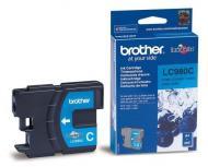 Картридж Brother (LC980C) (DCP145C/165C/195C, MFC250C) Cyan