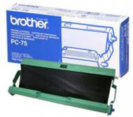 Картридж Brother PC-75 (PC75) (FAX T104/T106) Black