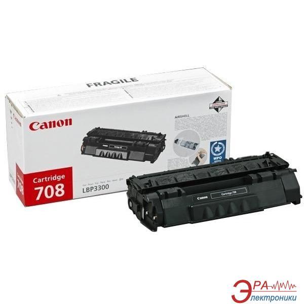 Картридж Canon 708 (Q5949A) (0266B002) (LBP-3300/ 3360, HP LJ 1160/ 1320) Black