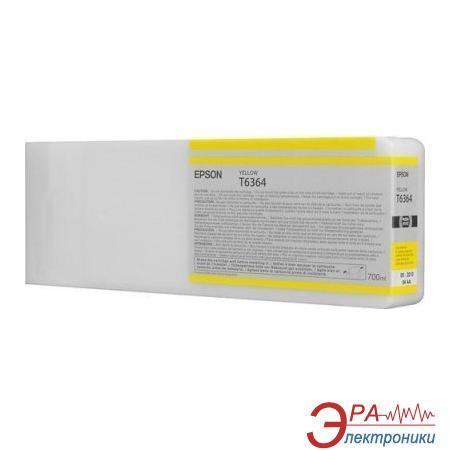Картридж Epson (C13T636400) (SP 7900 / 9900) Yellow