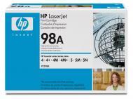 Картридж HP 98A (92298A) LaserJet 4/4m/4+/4m+/5/5m/5n Black