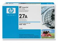 �������� HP 27A (C4127A) LaserJet 4000, LaserJet 4000n, LaserJet 4000se, LaserJet 4000t, LaserJet 4000tn, LaserJet 4050, LaserJet 4050 USB-MAC, LaserJet 4050n, LaserJet 4050t, LaserJet 4050tn Black