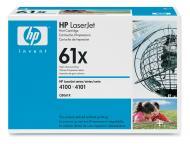 Картридж HP 61X (max) (C8061X) (LaserJet 4100, LaserJet 4100dtn, LaserJet 4100n, LaserJet 4100tn) Black