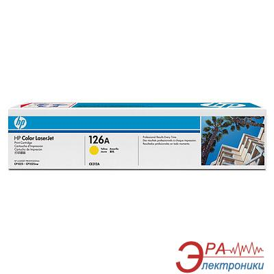Картридж HP 126A (CE312A) CP1025/CP1025nw Yellow