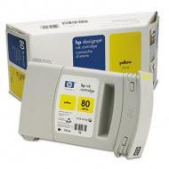 �������� HP No.80 (C4873A) DJet 1050C/C+/1055CM Yellow