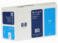 Картридж HP No.80 (C4846A) DJet 1050C/C+/1055CM Cyan