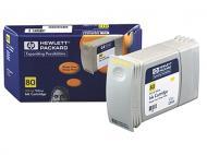 Картридж HP No.80 (C4848A) DJet 1050C/C+/1055CM Yellow