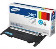 Картридж Samsung CLT-C407S (CLT-C407S/SEE) (CLP-320/320N/325, CLX-3185/85N/85FN) Cyan