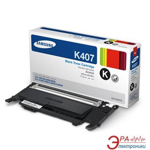 Картридж Samsung (CLT-K407S/SEE) (CLP-320/325/CLX-3185 Series) Black