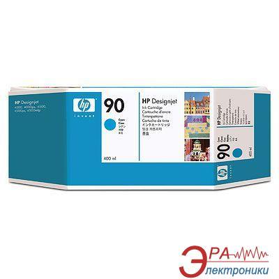 Картридж HP No.90 (C5061A) Designjet 4000, Designjet 4500 Cyan
