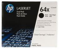 �������� HP Dual pack (CC364XD) (LaserJet P4015, P4515) Black