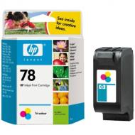 Картридж HP № 78 (C6578A) (DeskJet 1180C/1220C/3820/6122/ 6127/920C/930C/940C/960C/970C) Color (C, M, Y)