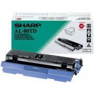 Картридж Sharp AL 80TD Sharp AL 800 Black