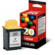 Картридж Lexmark N°20 (15MX120E) Lexmark Z51/Z42/Z52/Z43/Z53/Z45/Z705/P706/P707/X73/X83/X85/P3150/F4270 Color (C, M, Y)
