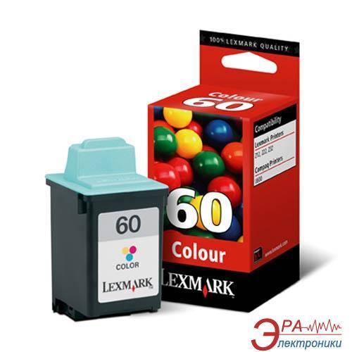 Картридж Lexmark №60 (17G0060E) Lexmark Z22, Z32, Z12 Color (C, M, Y)