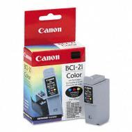 Картридж Canon BCI-21C (S200 / S200X / S300 / S330 Photo / i250 / i3x0 / i45x / i47xD / PiXMA iP1000 / 1500 / 2000/ MP110 / MP130) Color (C, M, Y)