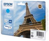 Картридж Epson XL (C13T70224010) (WP 4000/4500) Cyan