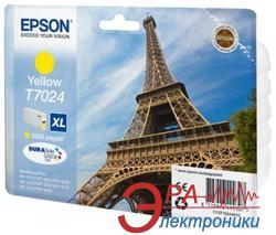 Картридж Epson (C13T70244010) (WP 4000/4500) Yellow