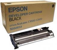 Картридж Epson (C13S050033) (C1000/C2000) Black
