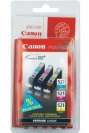 Картридж Canon CLI-521 (2934B010) (PIXMA-iP3600/iP4600/ iP4700/MP540 /MP550/MP560/MP620/MP630/MP640/ MP980/MP990/MX860/MX870) Bundle (C, M, Y)