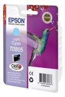 Картридж Epson (C13T08054011) StPhoto P50/ PX660/ PX720WD/ PX820FWD light cyan