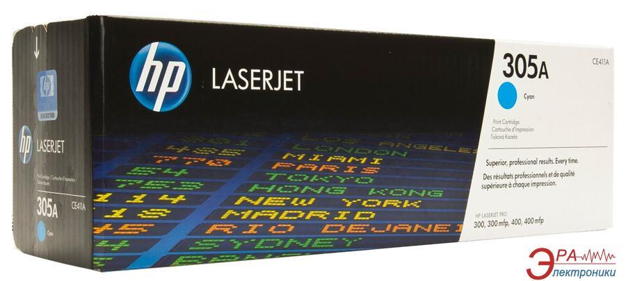 Картридж HP 305A (CE411A) (LaserJet Pro M351a/ M375nw/ M451dn/ M451dw/ M451nw/ M475dn/ M475dw) Cyan