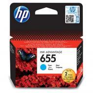 Картридж HP No.655 (CZ110AE) (DJ 4615/ 4625/ 3525/ 5525) Cyan
