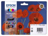 Картридж Epson 17 (C13T17064A10) (XP-33/103/203/207/303/306/403/406) Bundle (C, M, Y, Bk)
