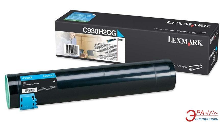 Картридж Lexmark (C930H2CG) (C935dtn/ C935dn/ C935hdn/ C935dttn) Cyan