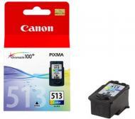 Картридж Canon CL-513 (2971B007) (MP240/250/260/270/272/280/490/492/495/MX320/330) Color (C, M, Y)