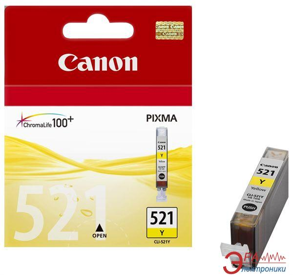 Картридж Canon CLI-521Y (2936B004) (PIXMA MP540/630) Yellow