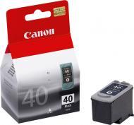 Картридж Canon PG-40Bk (0615B025) (iP1600/1700/1800/2200/2500 MP150/170/450 FaxJX200/500) Black