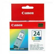 Картридж Canon BCI-24 (6882A002) (S200/200х/300/330Photo, i250/i320/i350/i450/i455/475D, SmartBase 190/200/MP360/370/390, PIXMA iP1000/iP1500/iP2000, PIXMA MP110/MP130) Color (C, M, Y)