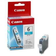 Картридж Canon BCI-6C (4706A002) (BJC-8200, BJ-i560/i865/i905D/i9100/i950/i965/i9950, BJ-S800/S820D/S830D/S900/S9000, PIXMA iP3000/4000/5000/6000D/8500, MP750/760/780) Cyan