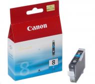 Картридж Canon CLI-8C (0621B024) (iP4300/ 4500/ 5300/ 6700D, iX4000/ 5000, MP500/ 530/ 800/ 830, Pro9000) Cyan