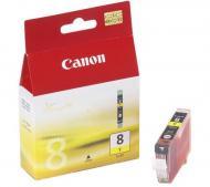 �������� Canon CLI-8Y (0623B024) (iP4300/ 4500/ 5300/ 6700D, iX4000/ 5000, MP500/ 530/ 800/ 830, Pro9000) Yellow