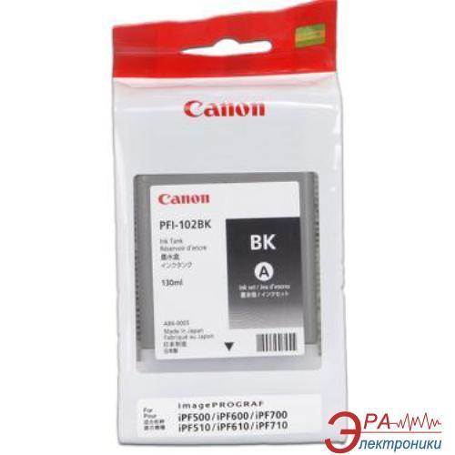 Картридж Canon PFI-102Bk (0895B001) (iPF500, iPF600, iPF700) Black