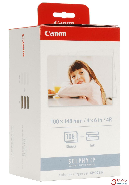 Комплект расходных материалов Canon KP-108IN (3115B001) (Selphy CP400/ CP500/CP510/CP600/CP710/CP720/ CP730/CP740/CP750/CP760/CP770/ CP800/CP900)