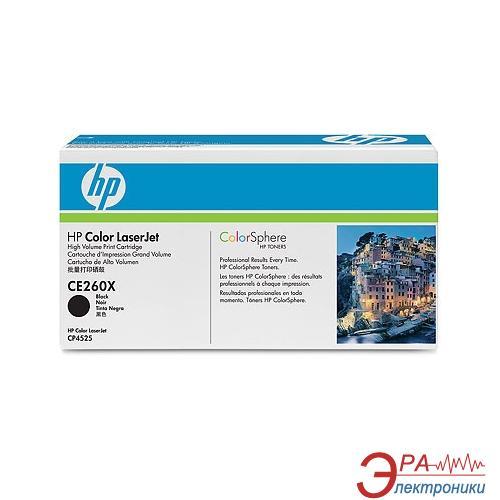 Картридж HP (CE260X) HP CLJ Enterprise CP4525dn/ 4525n/ 4525xh Black