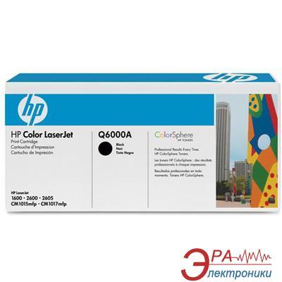 Картридж HP (Q6000A) HP Color LaserJet 1600, HP Color LaserJet 2600, HP Color LaserJet 2605, HP Color LaserJet CM1015, HP Color LaserJet CM1017 Black