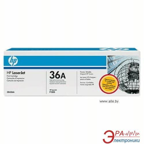 Картридж HP (CB436A) HP LaserJet M1120, HP LaserJet M1522, HP LaserJet P1505 Black
