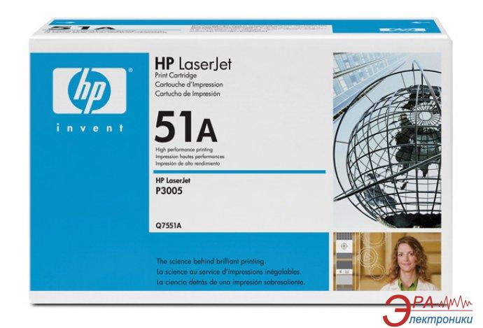 Картридж HP (Q7551A) HP LaserJet M3027, HP LaserJet M3035, HP LaserJet P3005 Black