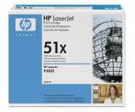 �������� HP 51X (max) (Q7551X) (HP LaserJet M3027, HP LaserJet M3035, HP LaserJet P3005) Black