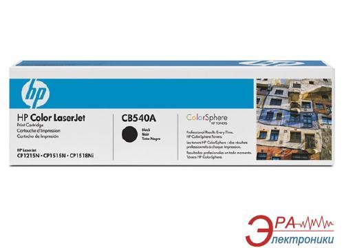 Картридж HP (CB540A) HP Color LaserJet CM1312, HP Color LaserJet CP1215, HP Color LaserJet CP1515, HP Color LaserJet CP1518 Black