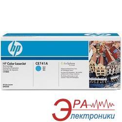 Картридж HP (CE741A) HP Color LaserJet CP5220/CP5225dn/CP5225n Cyan
